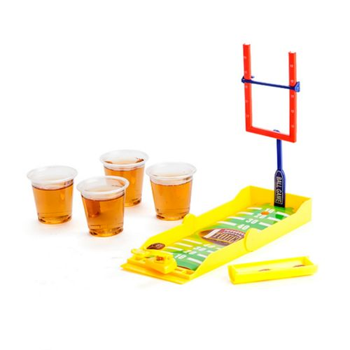 Drinking Games Adult Party Game Shot Glasses Football NFL Tackle Travel Size New