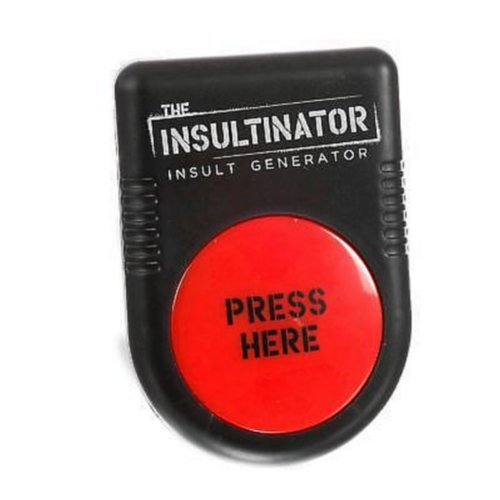Insult Generator Secret Santa Christmas Gift Adult Novelty Toy The Insultinator