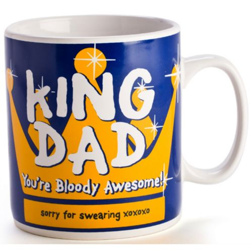 Dad Giant Coffee Mug Large Mugs Cup Fathers Day Ceramic Novelty Gift Christmas