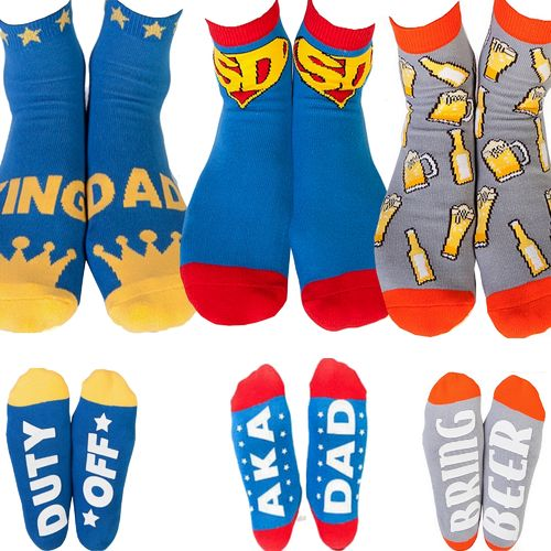 Socks Novelty Funny Mens Dad Beer Father Fathers Day Christmas Birthday Gift Men