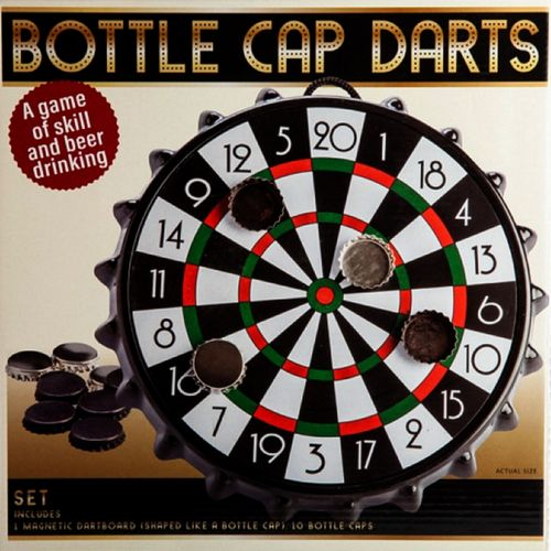 Darts Set Drinking Board Game Bottle Cap Magnetic Dart Adult Party Bar Games