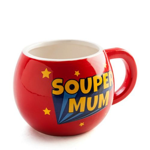 Mum Coffee Mug Mugs Soup Cup Ceramic Red Novelty Christmas Birthday Gift Mother
