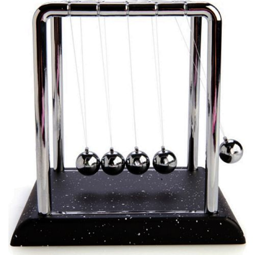 Newtons Cradle Balance Balls Ball Science Educational Toys Physics Novelty Gift