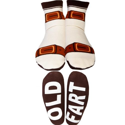 Mens Socks Novelty Dad Sandals Old Fart Funny Fathers Day Christmas Birthday New